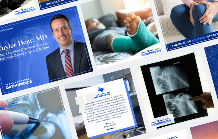 Texas Panhandle Orthopedics - Collage