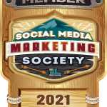 social media marketing society badge